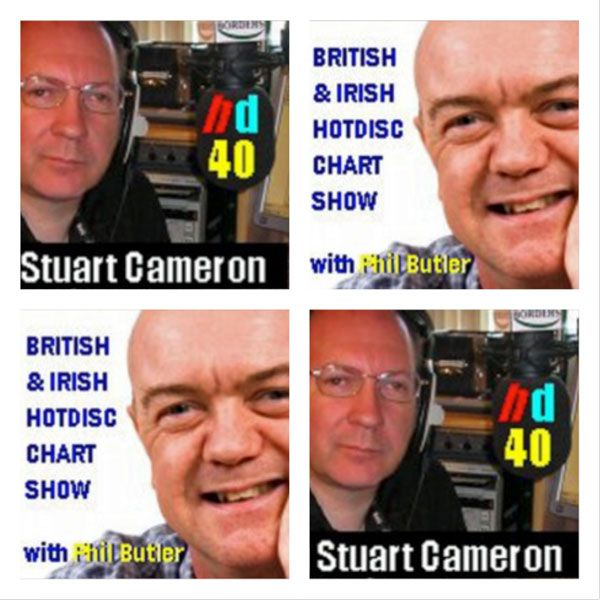 Hotdisc Charts – Hotdisc March 16 Top 40. Two radio programmes – the latest Hotdisc Chart Show Stuart Cameron's Hotdisc Top 40 show – 12 Noon on Sundays at CMR Nashville Phil Butler's British & Irish Hotdisc Top 10 Show – 8pm on Mondays at UKCountryRadio.com Hotdisc March 16 Top 40 Chart 01 02 Hey Son FERGAL FLAHERTY 02 01 Glad She's Not An Angel BRANCH & DEAN 03 05 Chicken On A Chain M...
