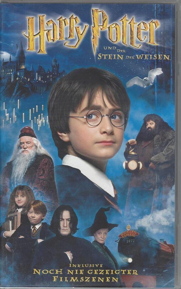 Verkaufe Eine Vhs Kassette Harry Potter Und Der Stein Des Weisen Gebraucht Sehr Gut Erhalten Stein Der Weisen Filme Kostenlos Filme