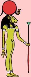Menhit   Egyptische Goden en Godinnen - Menhyt of Menhit (Menkhit)