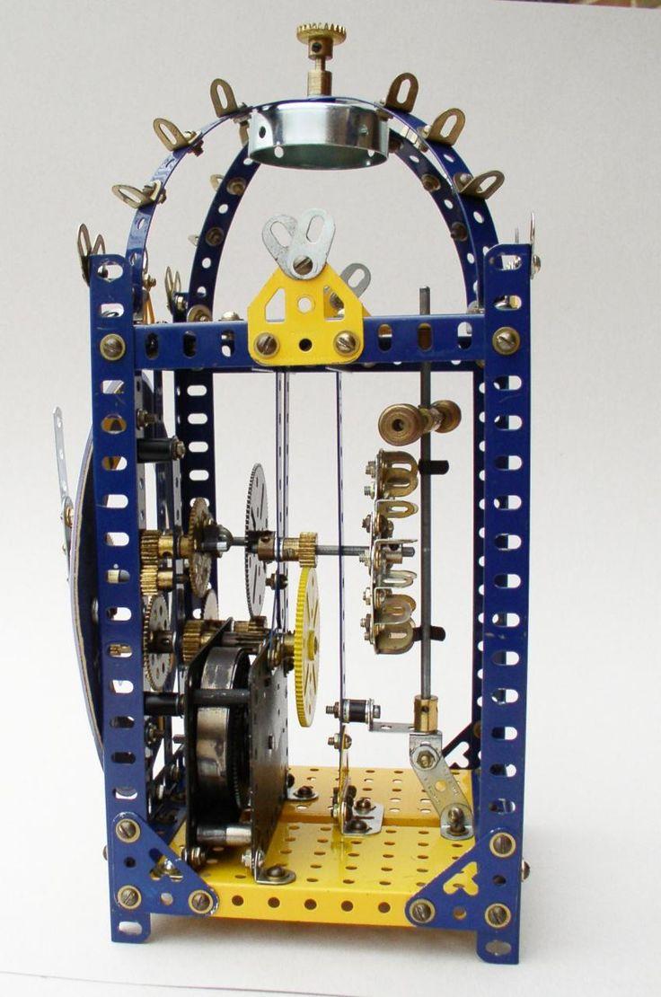 Meccano model page 43 Nuremberg Clock