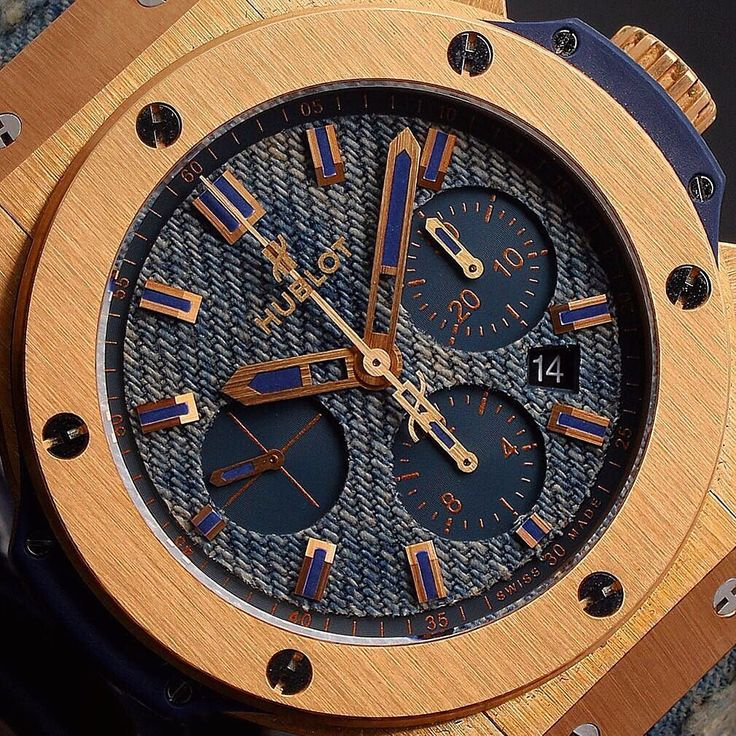 #Closeup of the #Hublot #BigBang #Jeans  In stock now!   Finance Available   Part Exchange