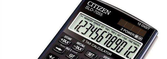 Az irodaszer webáruház számológépei