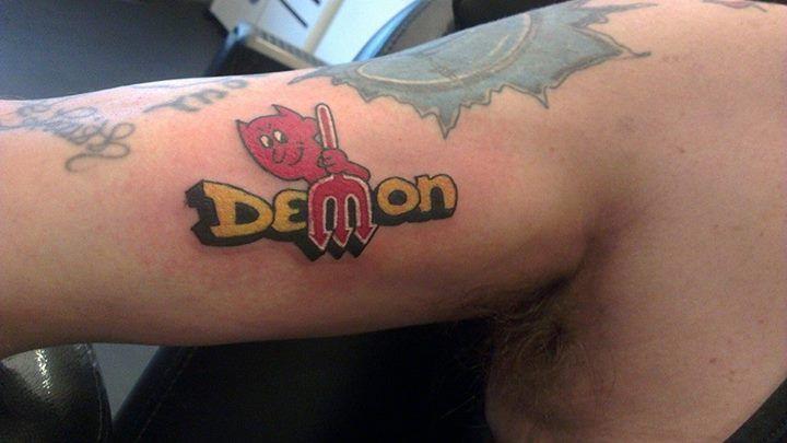 Dodge Demon Tattoo