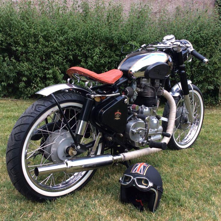 Royal Enfield - Bullet 500 Kit Hitchcock #bobber | Royal ...