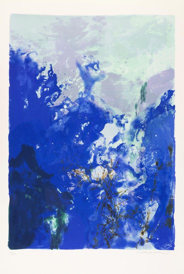 Zao Wou-Ki, Composition