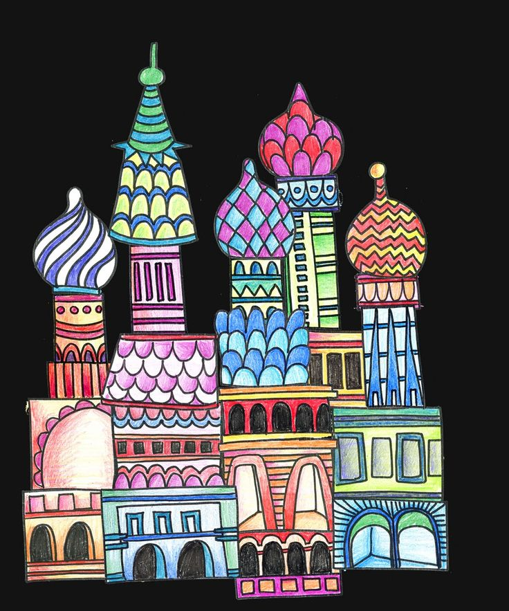 alphabetty monster St Basil Cathedral
