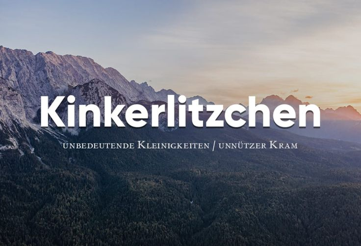 29 wunderschöne deutsche Wörter, die du viel zu selten sagst – Jessica Flohr