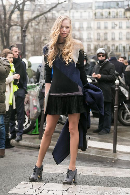 Tanya D. slamming one down #offduty in Paris. #TanyaDziahileva