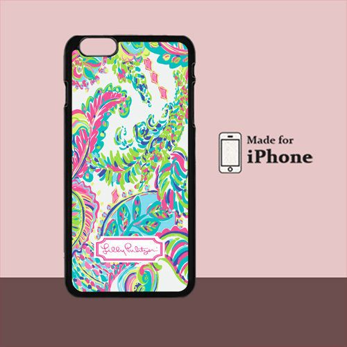 New Lilly Pulitzer Colorful For iPhone 6 Plus Hard Case