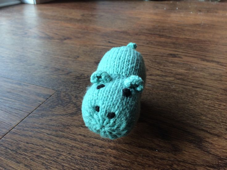 Happy Hippo (green) by FizmopsFuzzies on Etsy https://www.etsy.com/ca/listing/492100455/happy-hippo-green