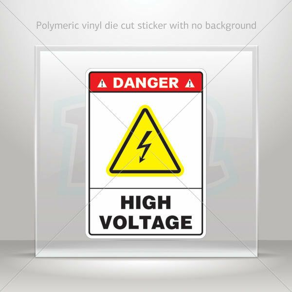 Hobby Stickers Danger High Voltage Entry By Authorized Personnel Only Weatherproof Game Brought To Yo Authorized Personnel Only High Voltage Weatherproofing