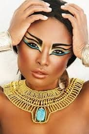 maquillage egyptien homme