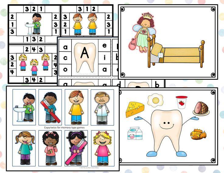 169 best images about Dental Health Unit on Pinterest