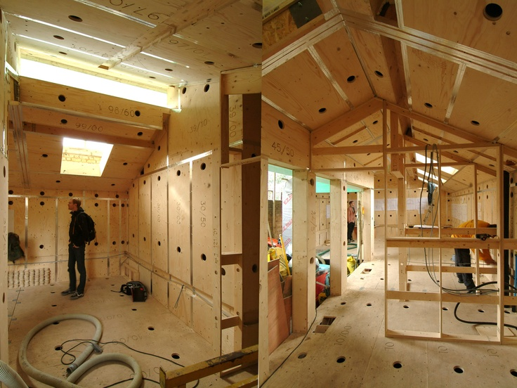 Build A House Of Nearly Any Shape From Parts Built Onsite