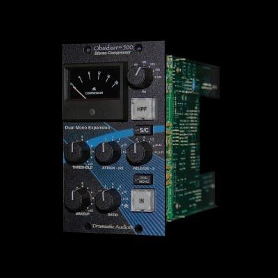 Dramastic Audio Obsidian 500 Expansión dual/mono - Serie 500 Audio