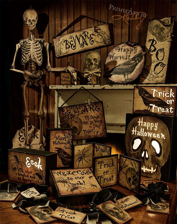 spooky skeletons and halloween decor to trick out your house - Halloween Horror Decorations