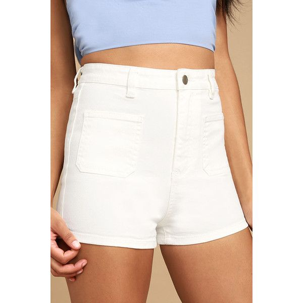 25  best ideas about White shorts on Pinterest | Denim shorts ...