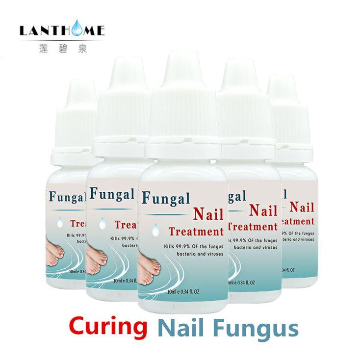 5 Pz Lanthome Trattamento Efficace di Onicomicosi indurimento Trattamento di Rimozione Toe Fungine Delle Unghie Fungo Del Chiodo Chiodo e Del Piede Sbiancamento