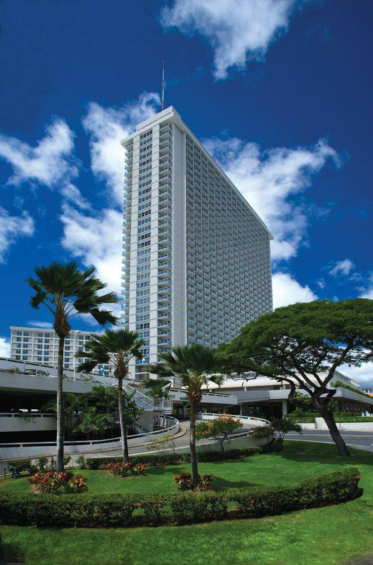 Honolulu's landmark hotel is the Ala Moana Hotel.