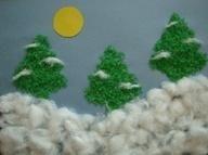 Recursos: Actividades plásticas sobre el Invierno