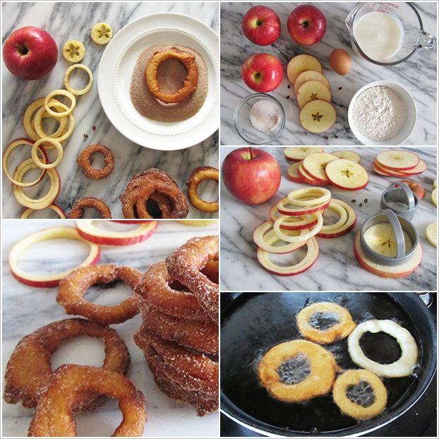 How to DIY Fried Cinnamon Apple Ring