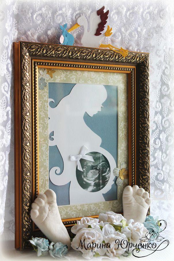 Ручная работа Рамочки для первых снимков вашего малыша