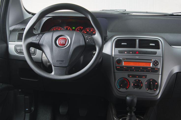 Interior Fiat Punto. Fiat Peru