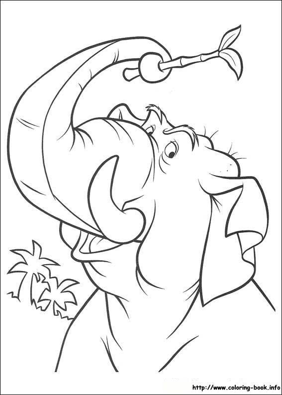 Jungle Book 2 coloring picture