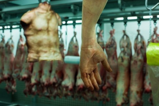 World's First 'Human Butchery'