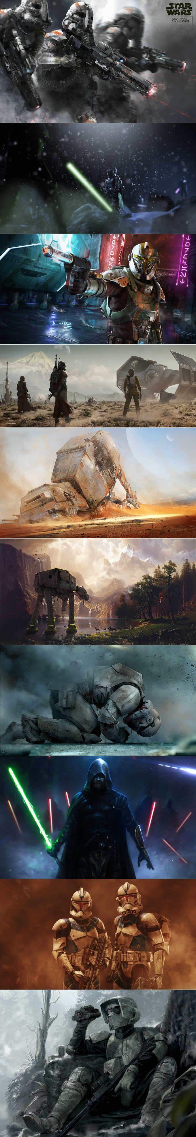 Star Wars concepart