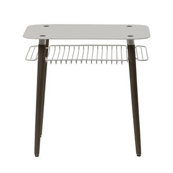The stylish Beside table from Maze is designed by Mattias Stenberg and has a retro look with grids in metal, perfect for books or magazines. The beautiful Beside table suits in almost every room and has the ultimate size to be but beside the bed or the sofa. The small table is made in wood and metal and is produced in Sweden! Comes i two beautiful colors.