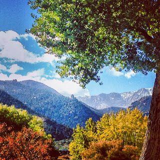 Colors of Colorado, Manitou Springs Colorado Pike Peak
