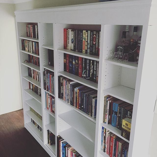 1000 ideas about billy bookcases on pinterest ikea for Ikea blue billy bookcase