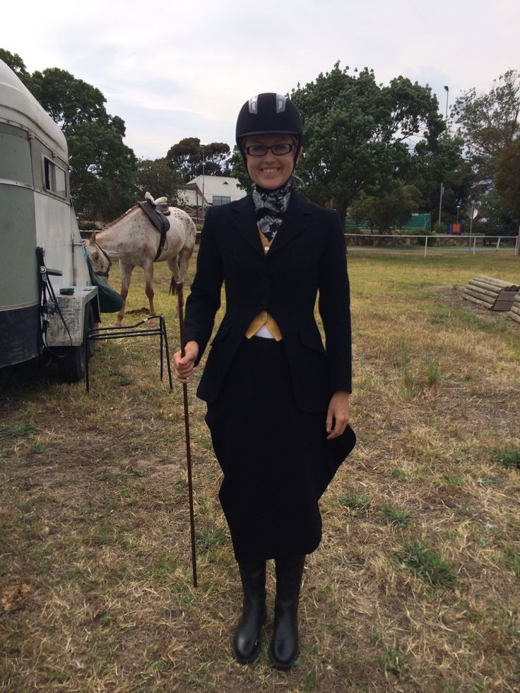Riding Habit For My First Ever Side Saddle Show