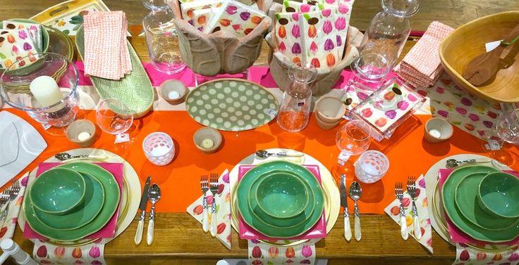 Caspari Paper Plates & Napkins, Tabletop accessories, Greetings   CaspariOnline.com