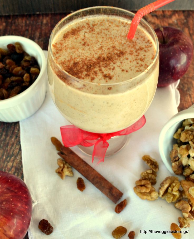 Applepie smoothie: can't get better than that!