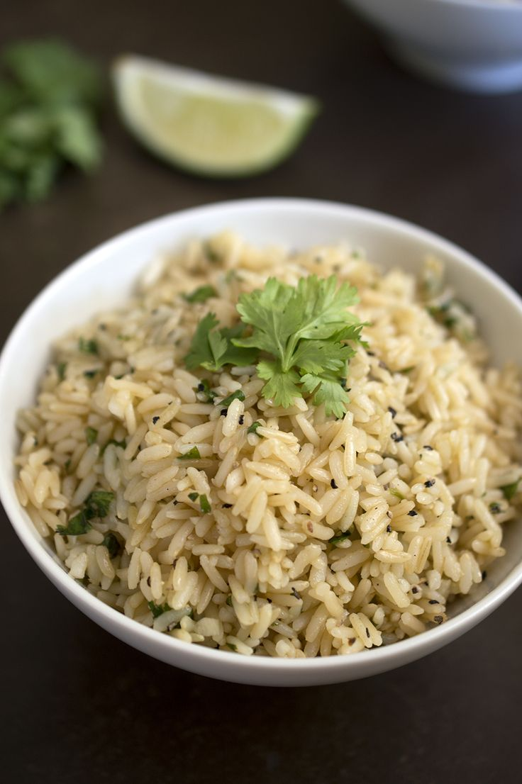 25+ bästa Cilantro lime brown rice idéerna på Pinterest ...