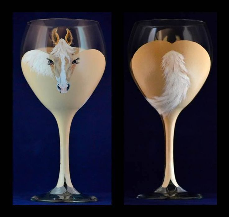 I love these for all my equine friends! The Horse's Glass