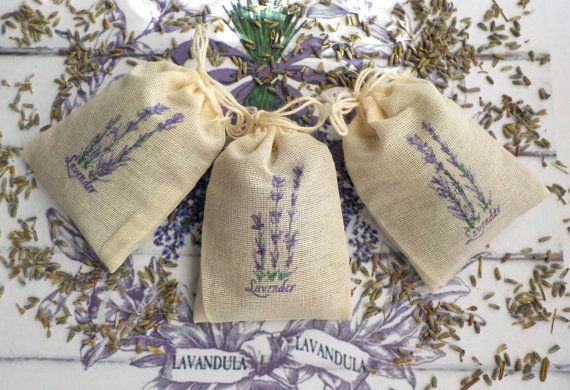 Shower Favors Lavender Sachets Lavender Wedding by Twenty3Design