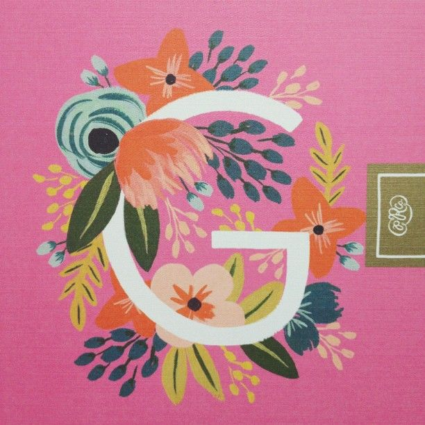 G is for Geninne. Rifle Paper Co.