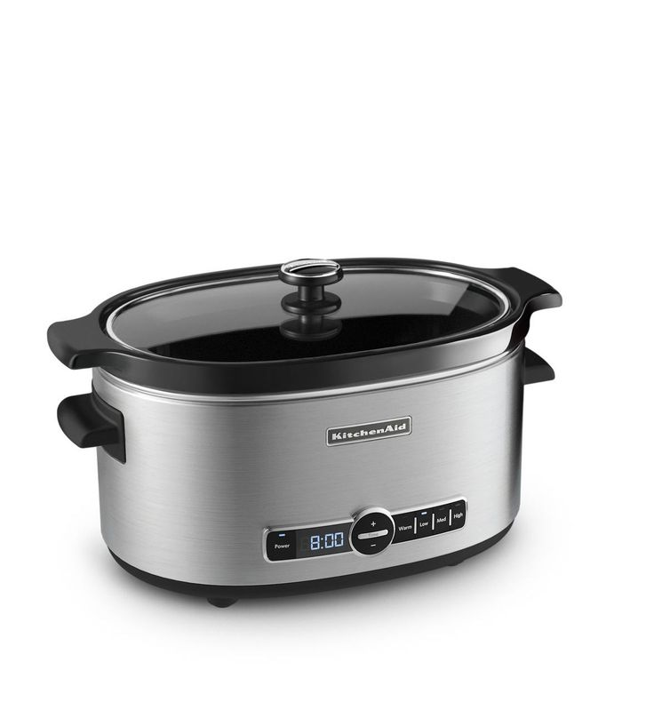 With the 24-hour programmability on the digital display, it's easy to start the slow cooker when you leave for work and return to a warm, delicious meal. And if you're running late, the slow cooker automatically goes into keep warm mode for up to four hours after the set cook time elapses.