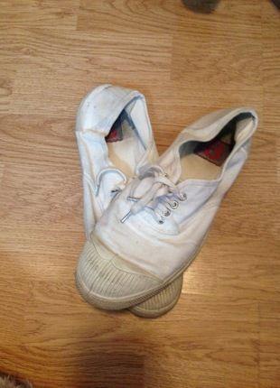 A vendre sur #vintedfrance ! http://www.vinted.fr/chaussures-femmes/autres-chaussures/17133868-bensimon-blanche-t39-chausures-toile