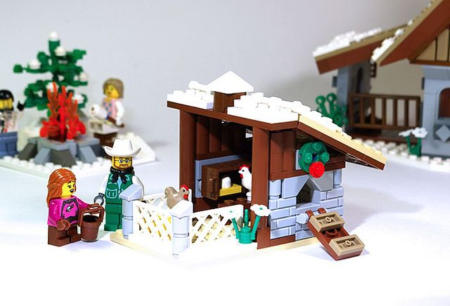 Lego Christmas: LEGO-Winter_Village_Farm_V2_03 by ~EmmaC~, via Flickr