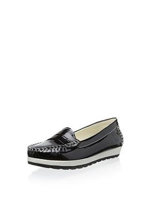 50% OFF Geox Women's D Senda Platform Loafer Flat (Black)
