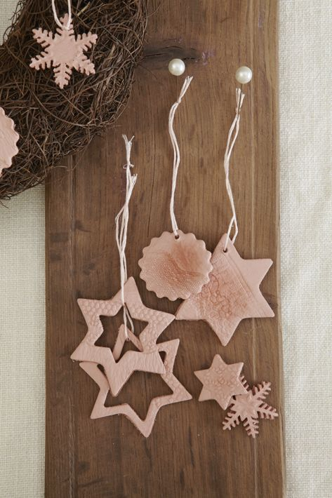 Clay Christmas decorations