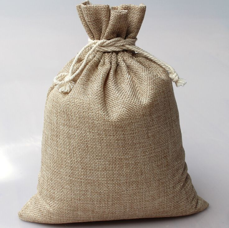 Find More Packaging Bags Information about 10*14cm 1000pcs Vintage Style handmade Jute Sacks Drawstring gift bags for jewelry/wedding/christmas Packaging Linen pouch Bags,High Quality bag 600d,China gift bag handle Suppliers, Cheap gift bag display from Fashion MY life on Aliexpress.com