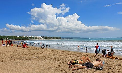 Kuta Beach  This tour is not foreign because Bali is very famous the beautiful white sand beaches t...