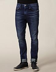 5 Pockets Pant - Calvin Klein Jeans - Denim blå - Jeans - Klær mann - NELLY.COM Mote online