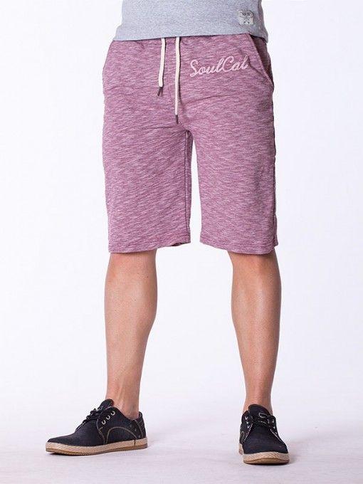 Pantaloni barbati scurti SoulCal lila
