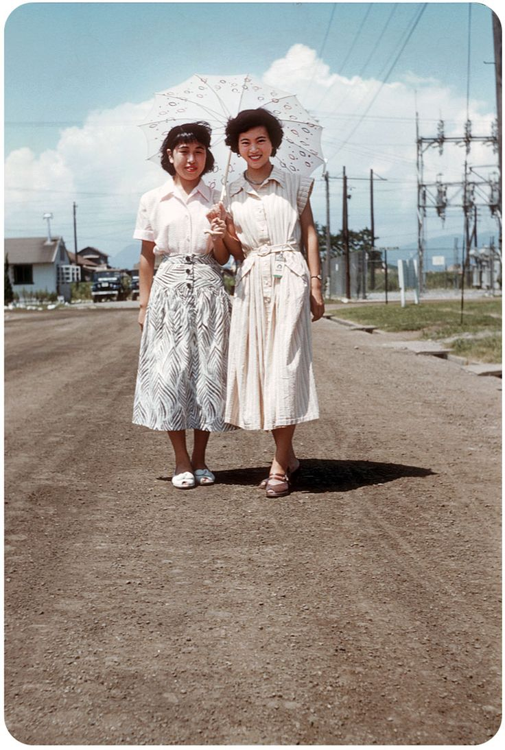 vintage everyday: This is What That Looked Like in the 1950s